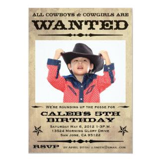 Fiesta querido de los niños del poster invitación 12,7 x 17,8 cm