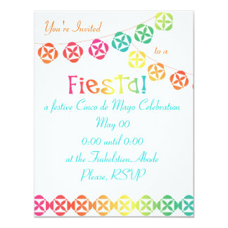 Fiesta Rainbow Card
