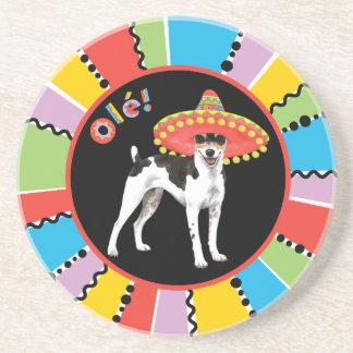 Fiesta Rat Terrier Coaster