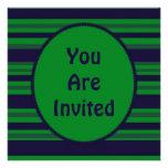 fiesta rayado azulverde comunicado personal