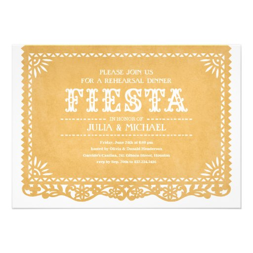 Personalized Mexican fiesta engagement party Invitations – Engagement Invite Templates