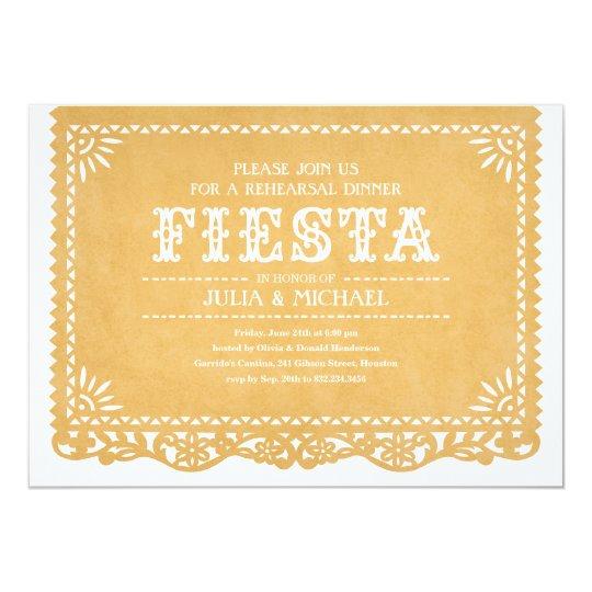 fiesta rehearsal dinner invitations zazzle com