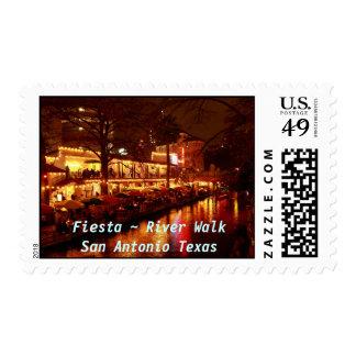 Fiesta ~ River Walk Postage