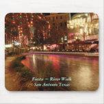 Fiesta ~ River Walk San Antonio Texas Mouse Pad