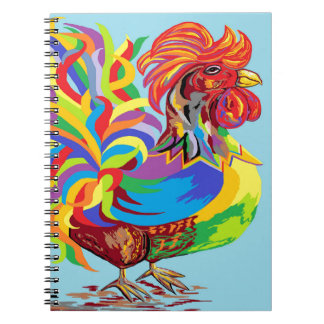 Fiesta Rooster Notebook