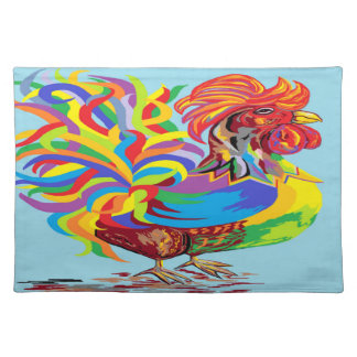 Fiesta Rooster Placemat