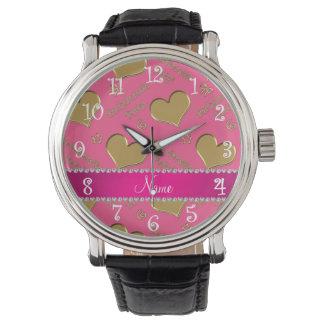 Fiesta rosado conocido del bachelorette de los relojes