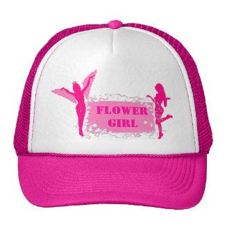 Fiesta rosado del bachelorette del florista gorra