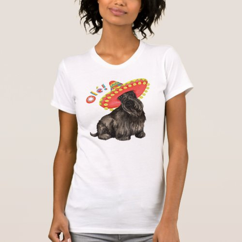 Fiesta Scottish Terrier T_Shirt