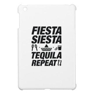 Fiesta Siesta Tequila Repeat iPad Mini Cover