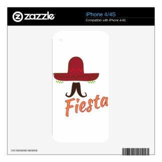 Fiesta iPhone 4 Skins