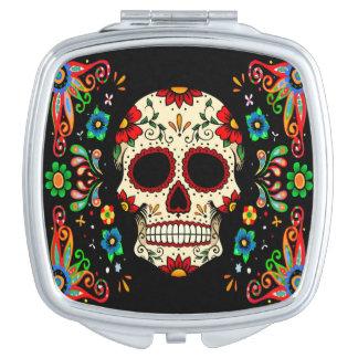 Fiesta Skull Makeup Mirror