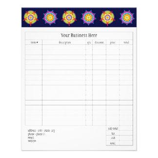 Fiesta Small Order Form Flyer