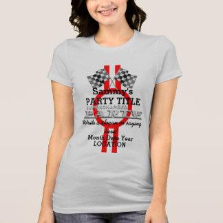 Fiesta sobrealimentado personalizado del camisas
