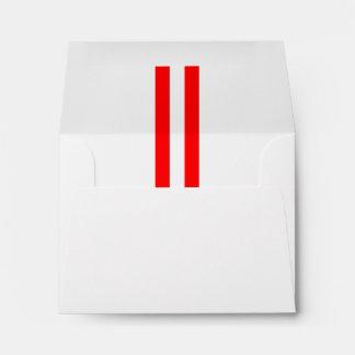 Fiesta sobrealimentado personalizado del sobres