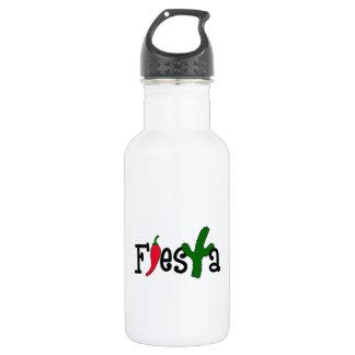 FIESTA STAINLESS STEEL WATER BOTTLE