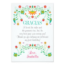 Fiesta Thank You Card Any Occasion