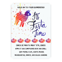 Fiesta Time Cinco De Mayo Invitation