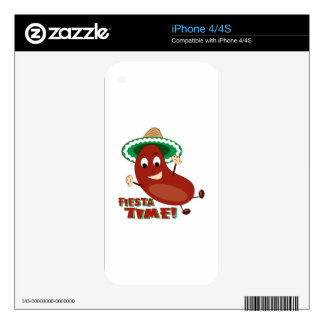 Fiesta Time iPhone 4S Decal