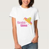 Fiesta Time Sombrero T-shirt