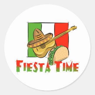 Fiesta Time Stickers