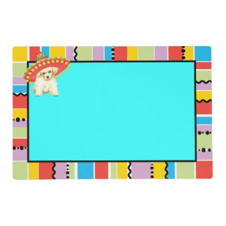 Fiesta Toy Poodle Placemat