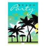 Fiesta tropical de la playa