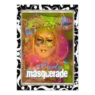 Fiesta veneciano del traje de la máscara de la comunicados personalizados