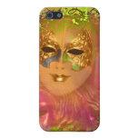 Fiesta veneciano del traje de mascarada de la másc iPhone 5 cobertura
