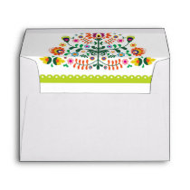 Fiesta Wedding Invitation Mexican Envelopes