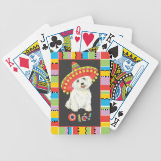 Fiesta Westie Bicycle Playing Cards