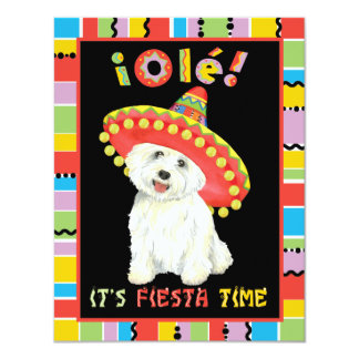Fiesta Westie Card