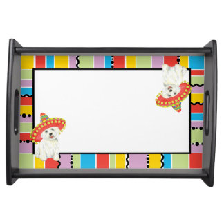 Fiesta Westie Serving Tray