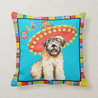 Fiesta Wheaten Throw Pillow