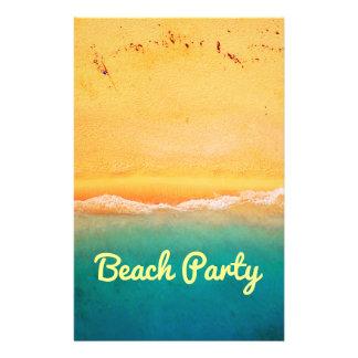 """Fiesta y celebraciones de la playa folleto 5.5"""" x 8.5"""""""