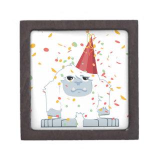 Fiesta Yeti del confeti Cajas De Regalo De Calidad