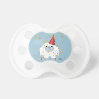 Fiesta Yeti del confeti Chupete De Bebe