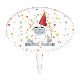 Fiesta Yeti del confeti Decoraciones Para Tartas