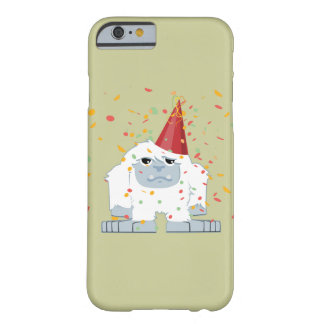 Fiesta Yeti del confeti Funda Para iPhone 6 Barely There