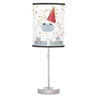 Fiesta Yeti del confeti Lámpara De Escritorio