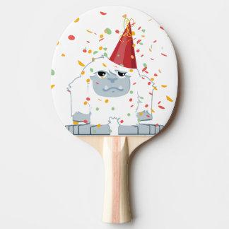 Fiesta Yeti del confeti Pala De Ping Pong