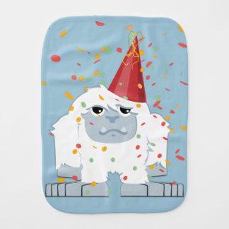 Fiesta Yeti del confeti Paños Para Bebé