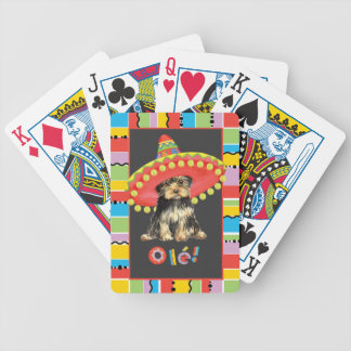 Fiesta Yorkie Bicycle Playing Cards