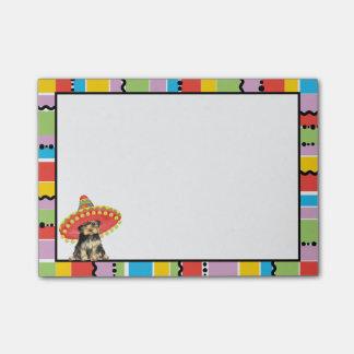 Fiesta Yorkie Post-it® Notes