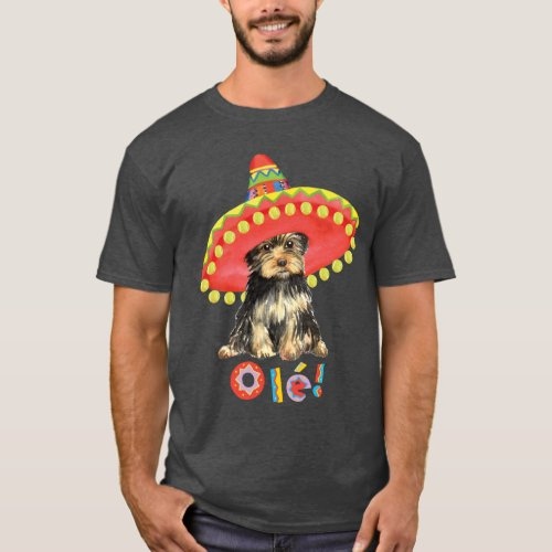Fiesta Yorkie T_Shirt