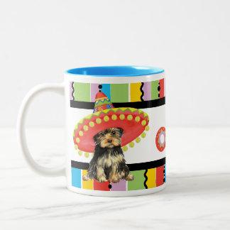 Fiesta Yorkie Two-Tone Coffee Mug