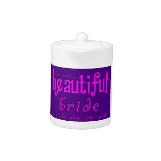 Fiestas de bodas y novia hermosa de las duchas nup