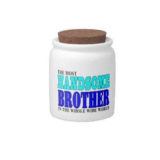 Fiestas de cumpleaños de los hermanos: Brother her Platos Para Caramelos