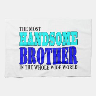 Fiestas de cumpleaños de los hermanos: Brother her Toallas De Cocina