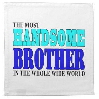 Fiestas de cumpleaños de los hermanos: Brother her Servilletas De Papel